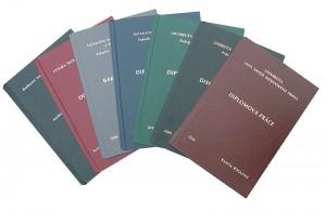 Diplomové práce - desky